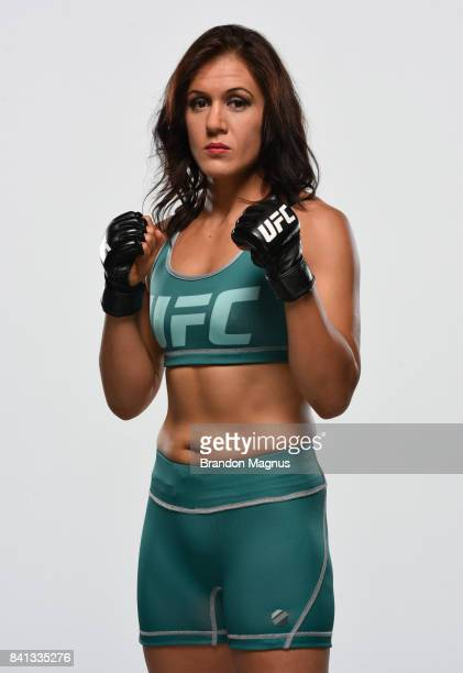 DeAnna Bennett poses for a portrait during the filming of The Ultimate Fighter at the UFC TUF Gym on July 15 2017 in Las Vegas Nevada