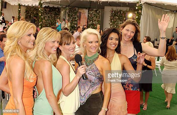 Deanna Brooks and Playmates at the Playmate of the Year 2004 presentation Carmella DeCesare was named Playboy's Playmate of the Year 2004 at the...