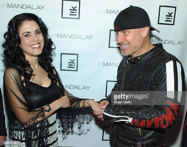 DeAnna Burditt and Peter Lik arrive at the opening of the new Peter Lik Gallery at the Mandalay Place inside the Mandalay Bay Resort Casino on...