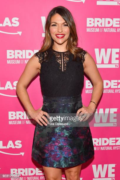 DeAnna Pappas attends WE tv Launches Bridezillas Museum Of Natural Hysteria on February 22 2018 in New York City