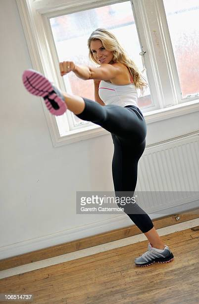 Deanne Berry launches The KSwiss Tubes Workout at Dancework Studios on November 4 2010 in London England