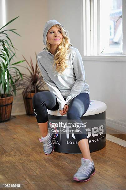 Deanne Berry launches The KSwiss Tubes Workout at Dancework Studios on November 4 2010 in London England The workout is designed for people on the go...