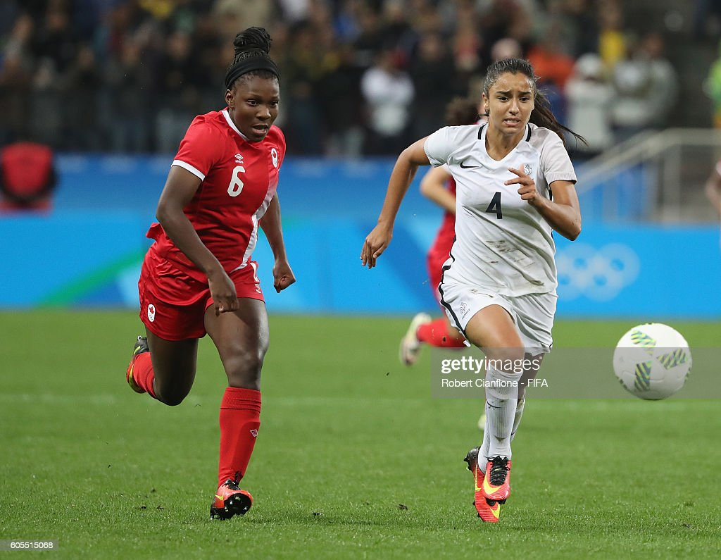 Canada v France - Quarterfinal: Women's Football - Olympics: Day 7