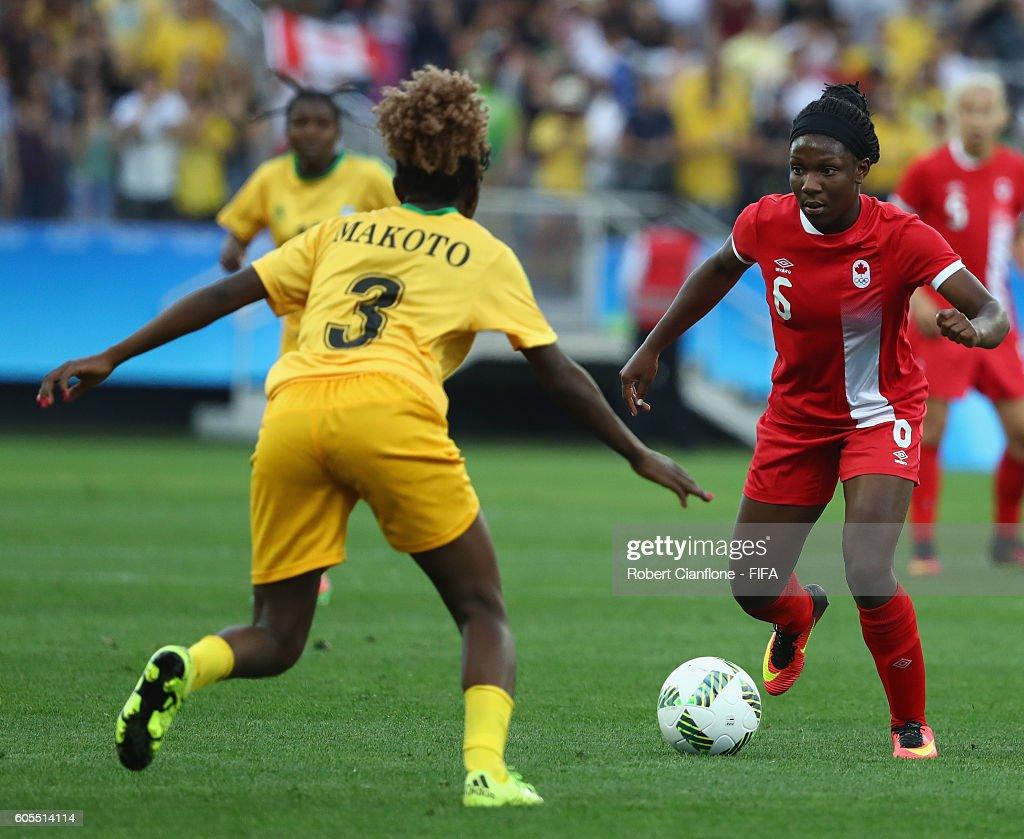 Canada v Zimbabwe: Women's Football - Olympics: Day 1