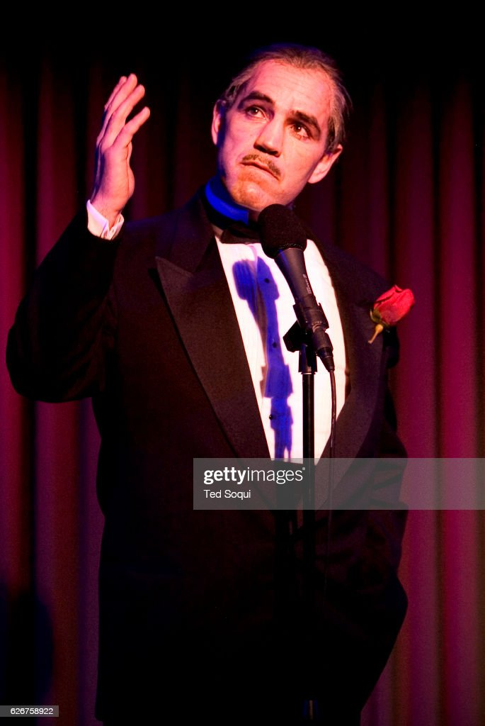 14th annual the reel awards which honors celebrity impersonators deano clavet a marlon brandogodfather don corleone look alike at the reel thecheapjerseys Choice Image