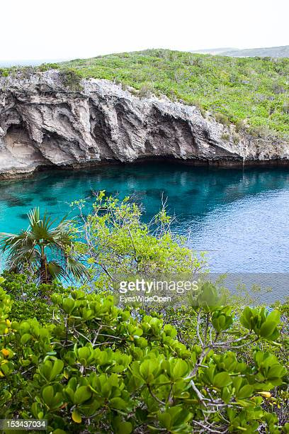 Dean´s Blue Hole is with a depth of 202 meters the deepest blue hole in the world and famous with freedivers on June 15 2012 in Long Island The...