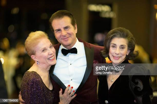 Dear Abby Vincent de Paul and Joycie Figgett attend The Thalians Holiday Party with Kira Reed Lorsch as Chair at Bel Air Country Club on December 1...
