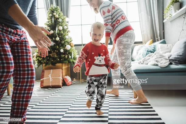 o dear christmas is near - christmas jumper stock pictures, royalty-free photos & images
