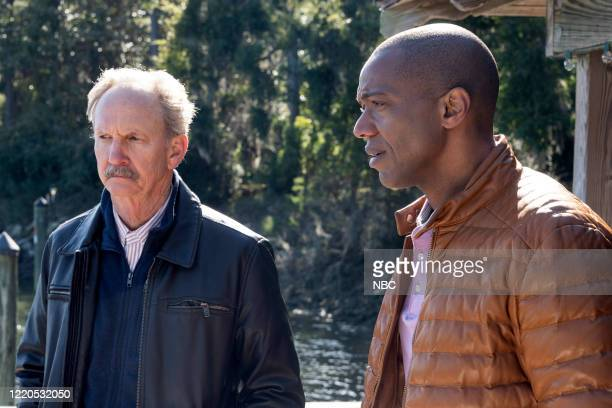 "Dear Dad"" Episode 108 -- Pictured: Michael O'Neill as Larry Mills, J. August Richards as Dr. Oliver Post --"