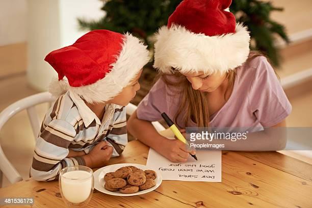 Dear Father Christmas...