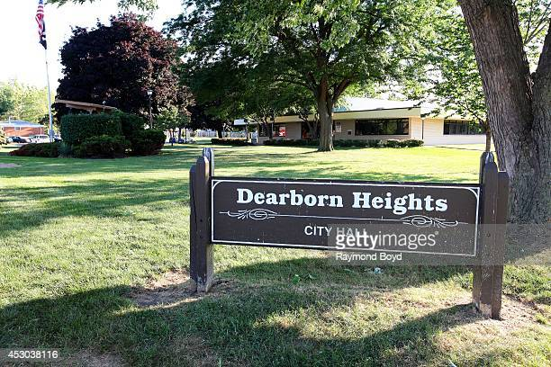 Dearborn Heights City Hall on July 17 2014 in Dearborn Heights Michigan