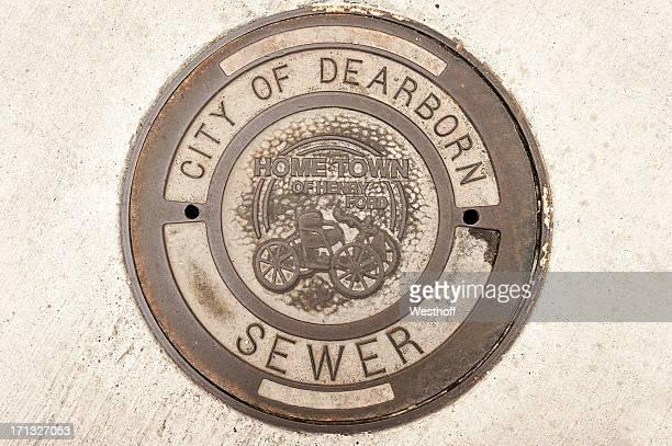 Dearborn Manhole Cover
