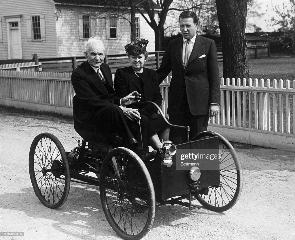 Henry Ford with Family in First Automobile Pictures | Getty Images