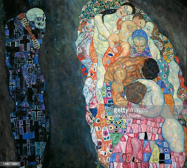 Death and Life 19111915 by Gustav Klimt oil on canvas 178x198 cm