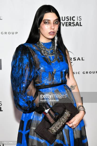 Death By Romy attends Universal Music Group Hosts 2020 Grammy After Party on January 26, 2020 in Los Angeles, California.