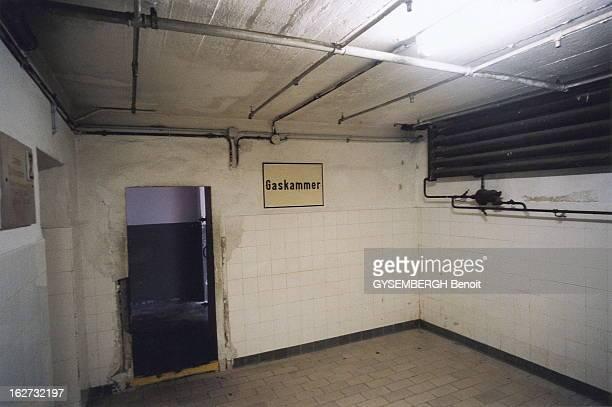 Mauthausen Le camp de concentration de Mauthausen en Autriche chambre à gaz