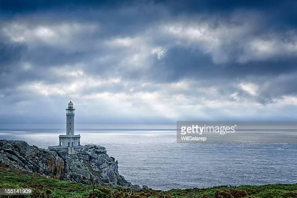 costa da mortero, galicia, españa - galicia fotografías e imágenes de stock