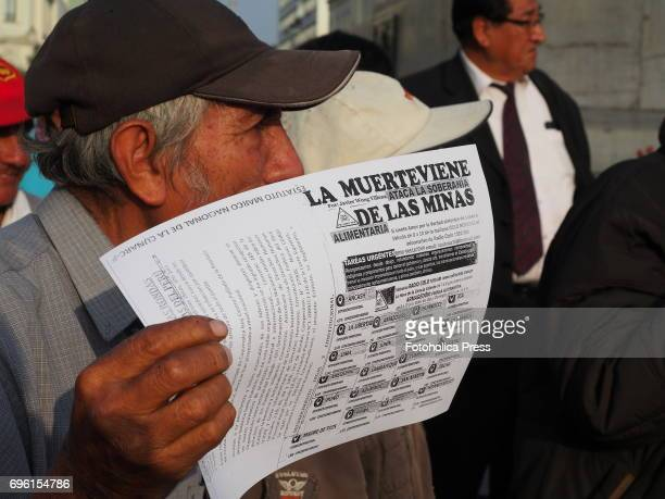 Death comes from the mines Residents of the mining town of Cerro de Pasco marched through the streets of Lima demanding medical assistance and a halt...
