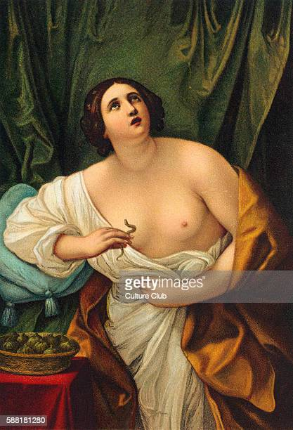 CLEOPATRA Death dying clasping the asp to her breastQueen of Egypt Operas about her written by MALIPIERO WEIGL MASSENET GRAUN BIANCHI MATTHESON...