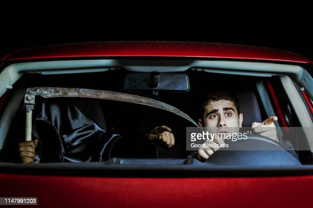death in a car - horrible car accidents stock pictures, royalty-free photos & images