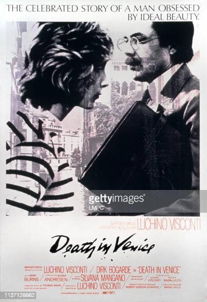 Death In Venice poster English language poster art from left Bjorn Andresen Dirk Bogarde 1971