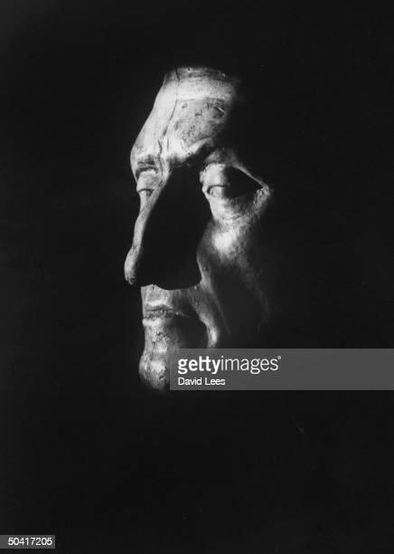 Death mask of Italian Poet Dante
