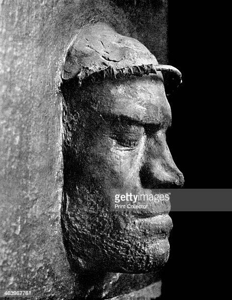 Death mask of Lorenzo de' Medici ruler of Florence 1492 Lorenzo the Magnificent ruled the Florentine Republic during the Italian Renaissance His...
