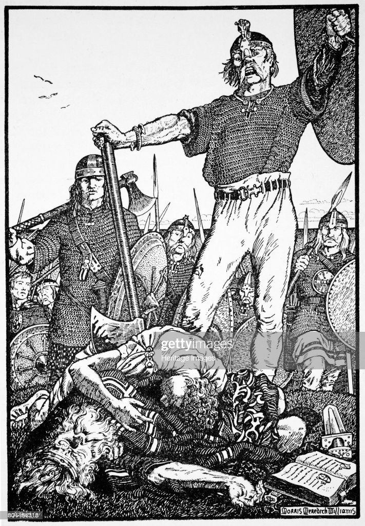 https://media.gettyimages.com/photos/death-of-brian-boru-at-the-battle-of-clontarf-ireland-1014-brian-boru-picture-id804484318