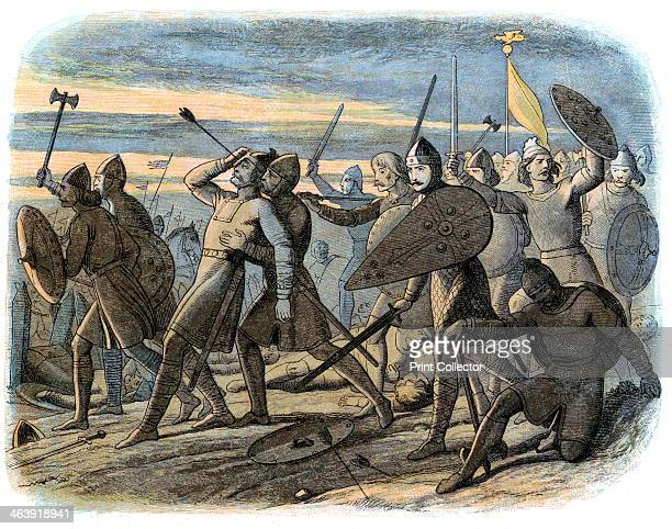 Death of King Harold Battle of Hastings 1066 Harold II was nominated as his successor as King of Angles and Saxons by Edward the Confessor His claim...