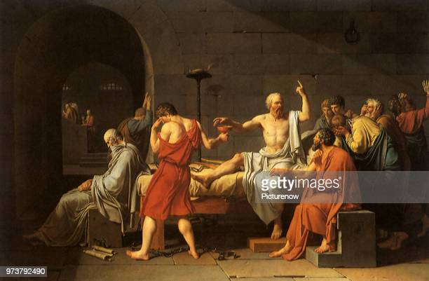 Death of Socrates 1787 David JacquesLouis 1787