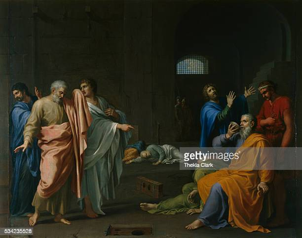 Death of Socrates by CharlesAlphonse Dufresnoy