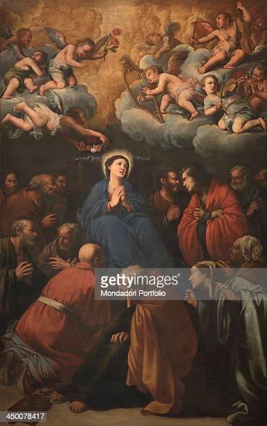 Death of the Virgin by Carlo Saraceni 17th Century oil on canvas