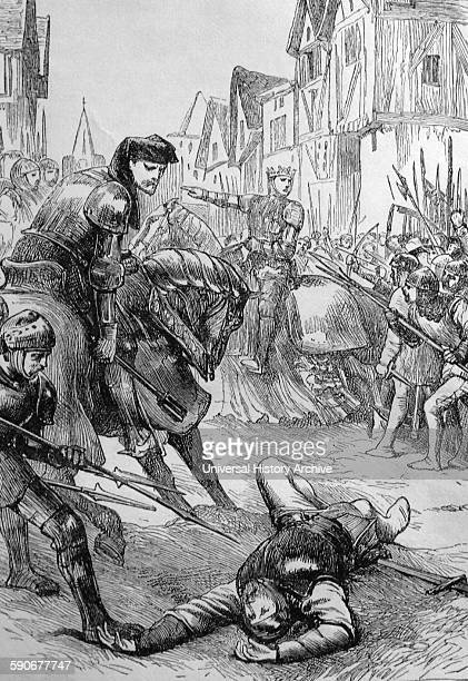 Death of Walter Wat Tyler was a leader of the 1381 Peasants' Revolt in England He marched a group of protesters from Canterbury to the capital to...