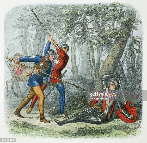 Death of Warwick the Kingmaker, Battle of Barnet, 1471 . Richard Neville or Nevill, Earl of Warwick , English soldier and statesman, was killed by...