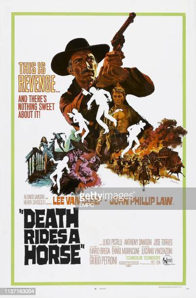 Death Rides A Horse, poster, , Lee Van Cleef, 1967.