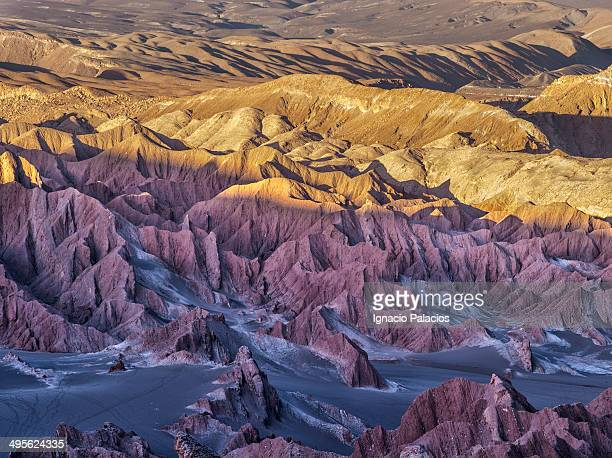 Death Valley at sunset, Atacama Desert