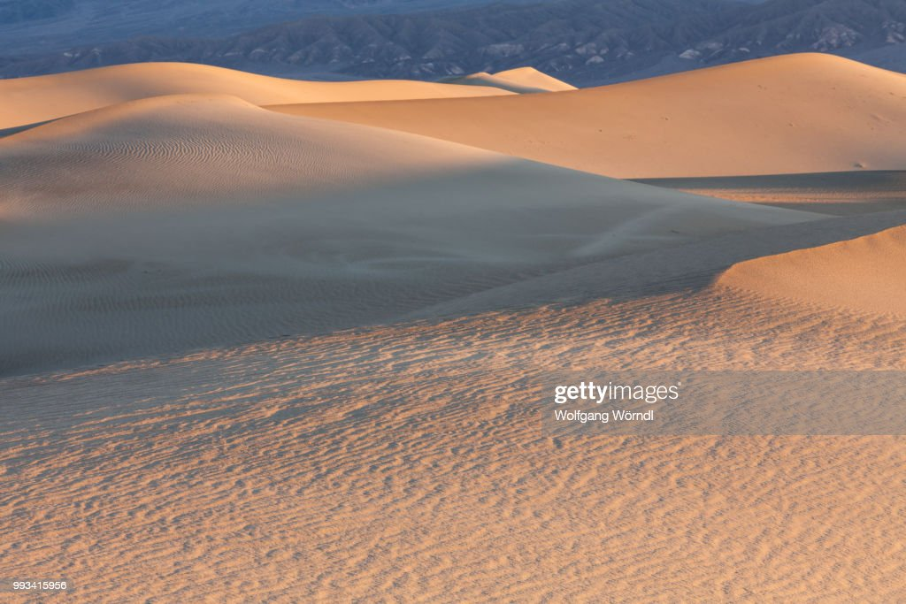 Death Valley Dunes : Stock-Foto