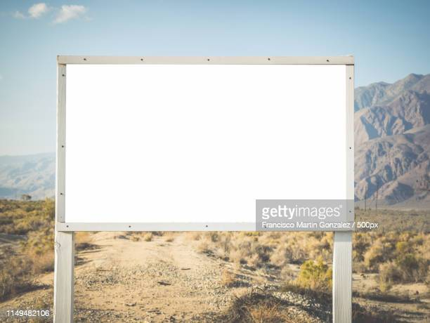 death valley in california, usa - billboard highway stock pictures, royalty-free photos & images