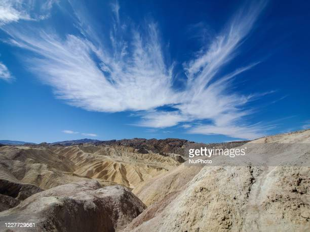 Death Valley National Park, California US, on July 10, 2020.