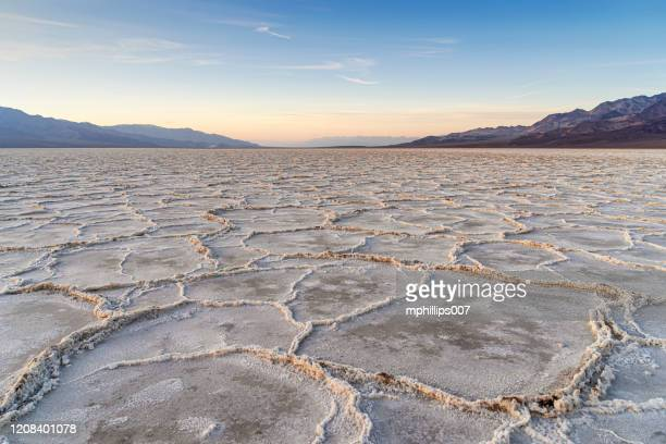 death valley national park salt flats badwater basin - great basin stock pictures, royalty-free photos & images