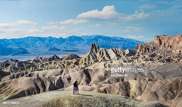 death valley panoramic - death valley national park stock pictures, royalty-free photos & images