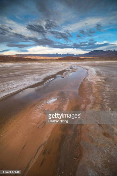 death valley - lake bed stock pictures, royalty-free photos & images