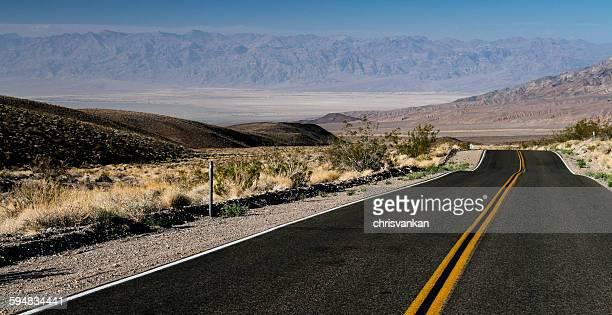 Death valley road, California, America, USA