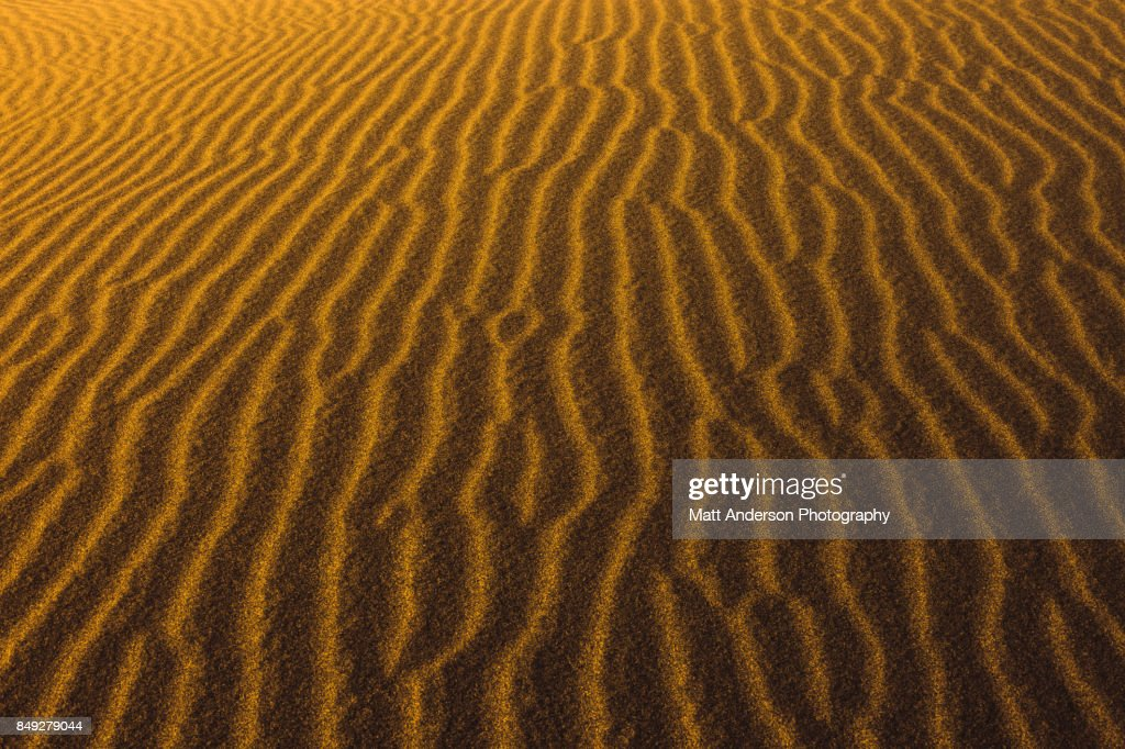 Death Valley Sand Dunes 3 : Stock Photo