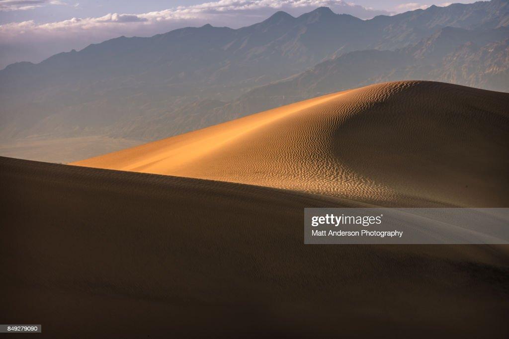 Death Valley Sand Dunes 7 : Stock Photo