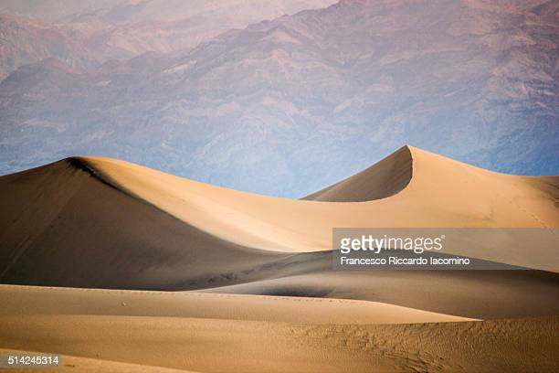 Death Valley sand dunes at sunrise