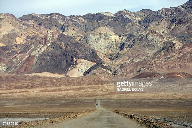 California's Death Valley is pictured 19 November 2006 The largest national park in the US comprises more than 33 million acres of desert wilderness...