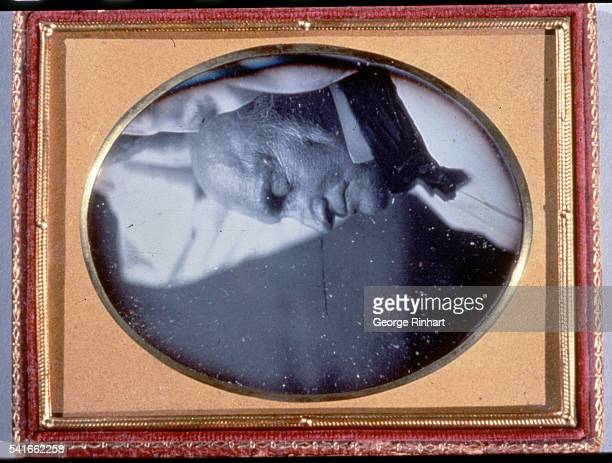 A deathbed portrait of John Quincy Adams Adams son of President John Adams was the sixth US president from 18251829 He then served as a US...