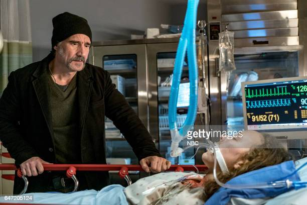 FIRE Deathtrap Episode 516 Pictured Elias Koteas as Alvin Olinsky Alina Jenine Taber as Lexi Olinsky