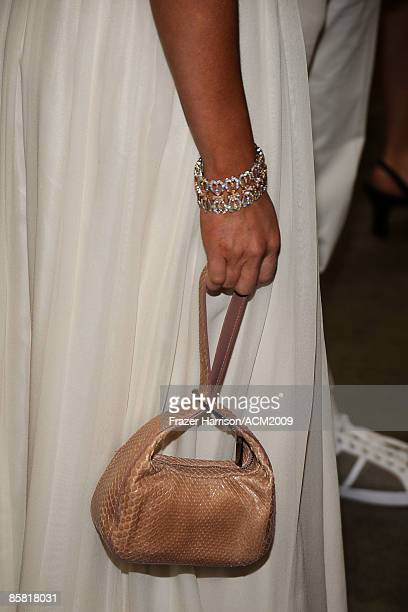 A deatil of actress Jennifer Love Hewitt backstage during the 44th annual Academy Of Country Music Awards held at the MGM Grand on April 5 2009 in...